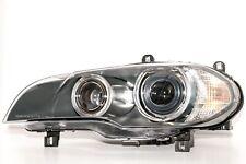 2007-2011 BMW X5 DRIVER SIDE BI-XENON HEADLIGHT LENS + HOUSING W/ ADAPTIVE LAMPS