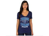 New NFL Women's Football Logo Top T-Shirt