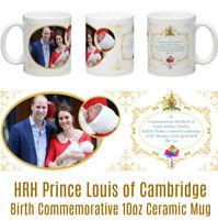 HRH Prince Louis of Cambridge Louis Arthur Charles Birth of Commemorative Mug