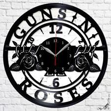 Guns N' Roses Hard rock Vinyl Record Wall Clock Fan Art Home Decor  A449