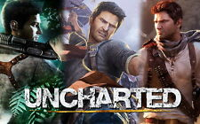 """16 Uncharted 3 - Drakes Deception III Video Game 22""""x14"""" Poster"""