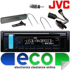 Ford Cougar 98-02 Jvc Auto Stereo Cd Mp3 Usb Interfaz De Volante Kit 24fd02