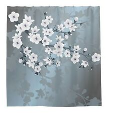 Flower Waterproof Bathroom Shower Curtain - Rideau de douche 60x70in