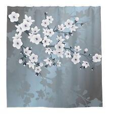 Flower Waterproof Bathroom Shower Curtain - Rideau de douche 60x70in