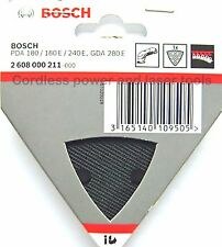 Bosch Delta Sanding Pad Backing Plate for PDA 180 240 E GDA 280 E 2608000211