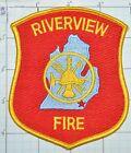 MICHIGAN, RIVERVIEW FIRE DEPT PATCH