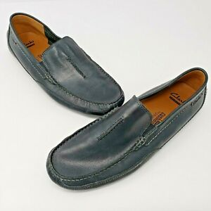 Clarks Collection Soft Cushion Mens Gray Slip On Shoes Size US 10.5 M