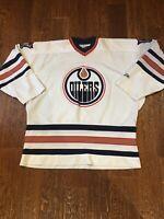 Edmonton Oilers Pro Player Men's Xl NHL Canada White