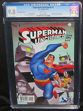 Superman Unchained #1 DC New 52 CGC 9.8 1:100 Bruce Timm 1930's Superman variant