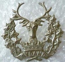 Badge- WW1 Gordon Highlanders Regiment Scottish Cap Badge (WM, ORG*)