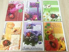 EF 100x Geburtstagskarten Glückwunschkarten Grußkarten Geburt Geburtstag 51-1414
