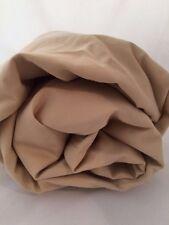 Pebble Twin Fitted Sheet 450TC Wrinkle Free Company Store Beige Sand Ecru