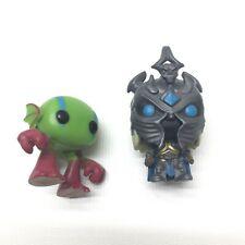 Funko Pocket POP! Keychain World of Warcraft Arthas & Murloc LOT OF 2 Pre-Owned