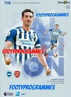 Brighton v Arsenal Premier League Programme  20/6/20 Brand New Free UK Post