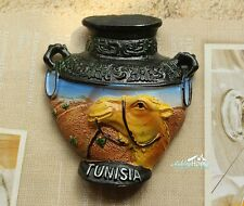 Tunesien Reiseandenken Reise Souvenir 3D Polyresin Kühlschrankmagnet Magnet