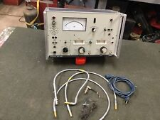 Siemens 10kc-17mhz D2006 Level Meter Radio Test Equipment Receiver