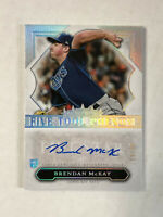 BRENDAN McKAY 2020 Five Star Phenom HOLO BLUE INK RC SP AUTO /25! RAYS! INVEST!