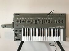 Roland SH-101 VINTAGE monophonic bass synthesizer w/ power supply, GRIP MGS-1
