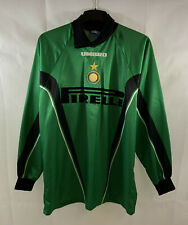 Inter Milan GK Football Shirt 1997/98 Adults XL Umbro D206