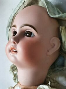 Superbe ancienne poupée Jumeau 1907 porcelaine taille 10 antique doll