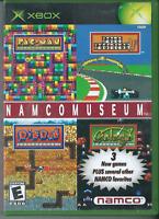 Namco Museum (Microsoft Xbox, 2003) Complete w/ Manual. 🎄