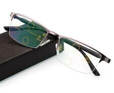 Bifocal dual-light autofocus high-definition multifocal transition reading glass