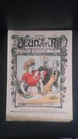 Revista Jean Que Rit N º 340 1907 Journal Demuestra Aparecen El Viernes Con ABE