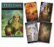 Jeu de tarot divinatoire Thelema, 78 cartes avec livret en Francais,neuf