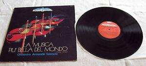 Orchestra Armando Sciascia – La Musica Piu' Bella Del Mondo (VPAS 893) - LP