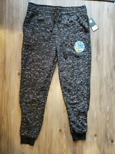 NWT NBA Golden State Warriors Sweatpants Joggers Curry Oreo BKPS Sz Large