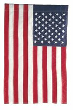 """USA GARDEN FLAG EMBROIDERED BY EVERGREEN, 12"""" x 18"""""""