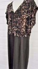 Women's Dress size  plus size PLUS  24 W brown print REDUCED NOW