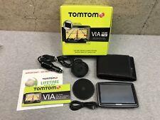 "TomTom VIA 1530 TM 5"" Car Vehicle GPS Unit Reciever & Box"