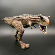 Large Realistic Carnotaurus Toy Figure Dinosaur Best Christmas Gift for Boy Kids