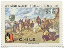 Chile 1981 #1007 Centenario de la Ciudad de Temuco MNH