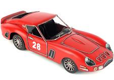 31CM Handmade Antique 1962 Ferrari 250GTO Racer Car Tin Metal Reproduction Model