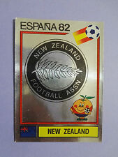 FIGURINE PANINI CALCIATORI SCUDETTO BADGE NEW ZEALAND N.418 ESPANA 82  NEW-FIO