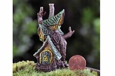 Micro Mini Tree House GO 17347 Miniature Fairy Garden Gnome by Fiddlehead