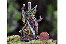 Micro Mini Tree House GO 17347 Miniature Fairy Garden Gnome by Fiddlehead