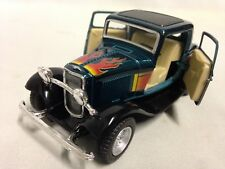 """1932 Ford 3- Window Coupe, Hot Rods, 5"""" DieCast 1:34 Pull Back KinsMrat Toys GR"""