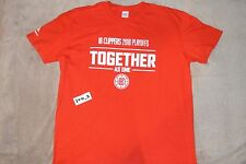 NEW CLIPPERS 2016 TOGETHER AS ONE PLAYOFFS LAC XL Extra Large promo t-shirt cp3