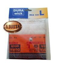 """Stoppino Dura Wick RCA 100 """" L """" per Stufe a Combustibile Liquido - ZIBRO KAMIN"""
