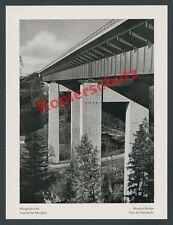 Empire motorway Rab mangfallbrücke technology Steel architecture spoilt weyarn 1939