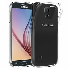(2 Pack) For Samsung Galaxy S5 - S5 Neo Case Clear Silicone Slim Gel Cover