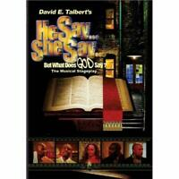 David E Talbert's He Say She Say But What Does God Say? On DVD With Clifton Very