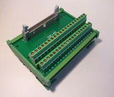 IDC-40 Male Header Breakout Board Screw Terminal Raspberry Pi Adaptor DIN Rail