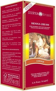 Henna Copper Cream by Surya Brasil, 2.3 oz