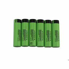 6Pcs/lot BATTERIA NCR 18650 3.7V 3400mAh NCR18650B Li-Ion Batteria per Panasonic