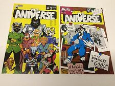 THE ANIVERSE #1-2 (WEE BEE/1987/ANTHAPHOMORPHIC/061632) COMPLETE SET LOT OF 2