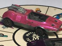1970 HOT WHEELS REDLINE Peeping Bomb Hot Pink 70 Filler